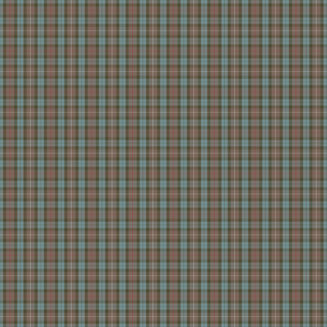 1:6 scale Fraser hunting weathered fabric by weavingmajor on Spoonflower - custom fabric