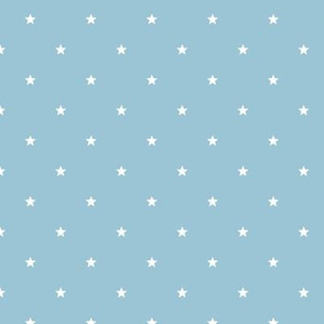 étoiles fond bleu