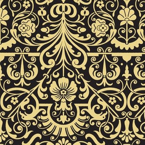 Rococo Damask 4d
