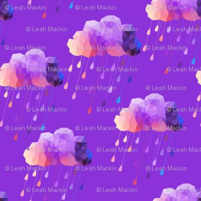 Purple Acid Clouds