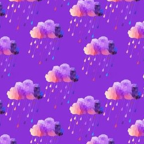 Purple Acid Clouds