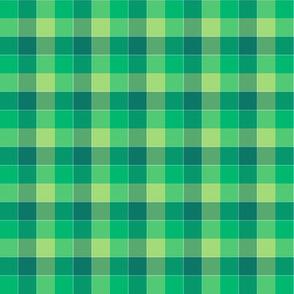 "paneled tartan - 1.5"" - serene greens"
