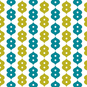 Inflection Teal and Olive