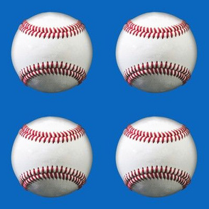 """4"""" baseball charm squares"""