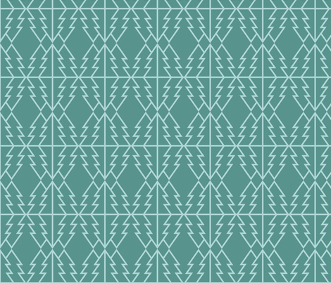 Tree Line fabric by hey_darlin' on Spoonflower - custom fabric