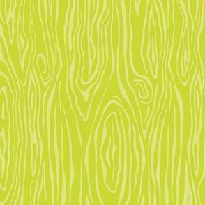 Chartreuse Woodgrain