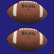 custom order - personalized footballs - Sean