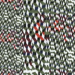 nonish coloured weave