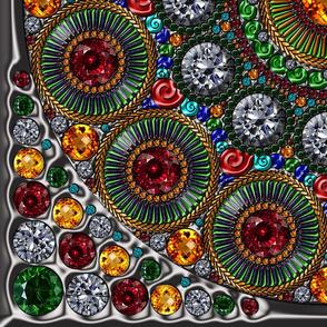 Etruscan Mandala Scarf
