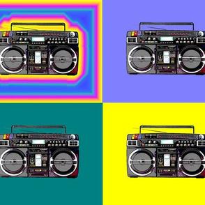 ghettoblaster multicolor