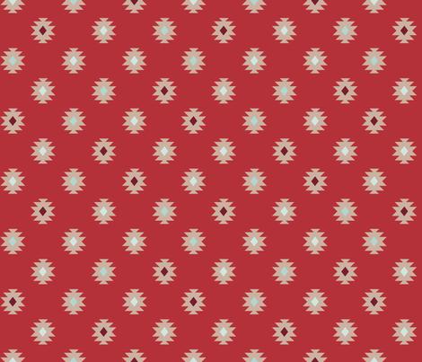 On The Trail - Dusk fabric by abbyhersey on Spoonflower - custom fabric