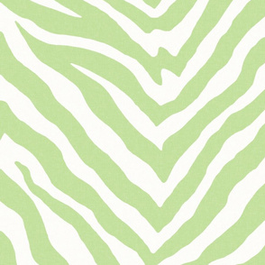Large Scale Zebra in Spring Green 1