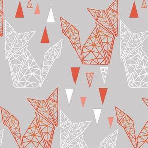 Geometric fox and triangle