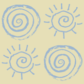 Suns & Roses on Tumbleweed Baby
