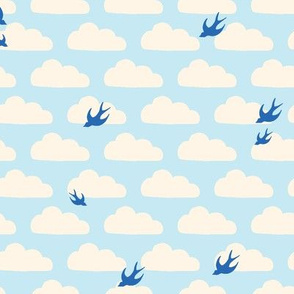 Bluebirds in the Clouds