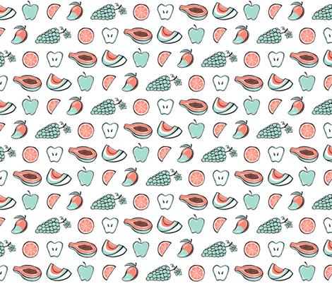 Juicy  fabric by strangecharmdesign on Spoonflower - custom fabric