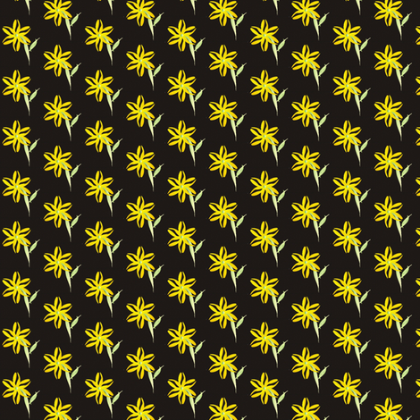 bleach_out_flower1 fabric by compugraphd on Spoonflower - custom fabric