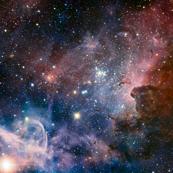 Carina Nebula 56x36 inches space