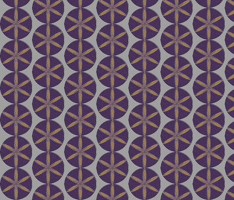 purple_flower_12_2002 fabric by compugraphd on Spoonflower - custom fabric