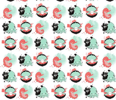 sea treasures fabric by mrs_buns on Spoonflower - custom fabric