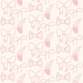 Light pink bows