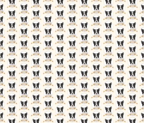 Border Collie fabric by pateisen on Spoonflower - custom fabric