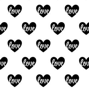 loveheartblack