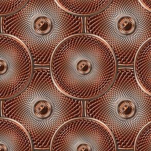 Coppertone Shield Kaleidoscope 01