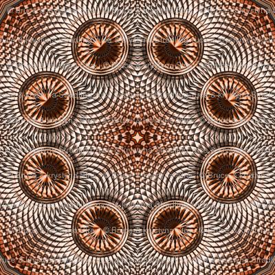 Coppertone Shield Kaleidoscope 04