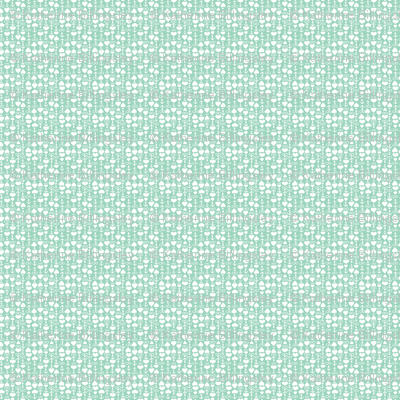 Love Anchor Infinity Mint & White