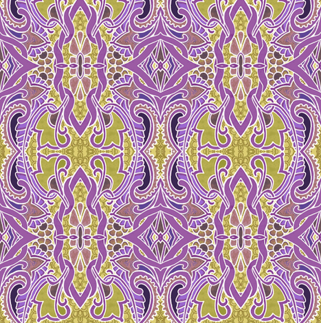 When I Close My Eyes I Don'tWant to See THIS fabric by edsel2084 on Spoonflower - custom fabric