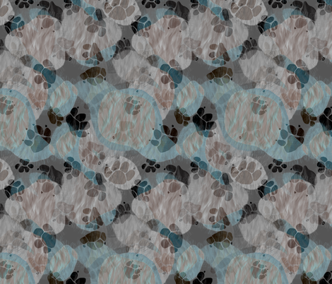 Beagle Batik - Wet Dog fabric by wiccked on Spoonflower - custom fabric