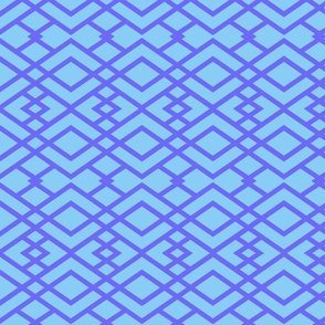 Blue Triangle Lattice