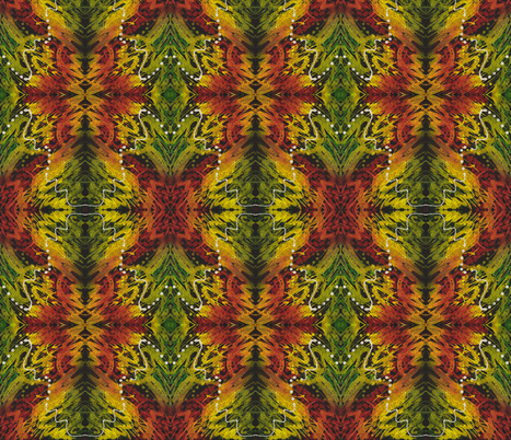 Jungle fabric by valeriehildebrand on Spoonflower - custom fabric