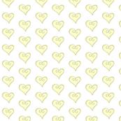 yellow hearts - small
