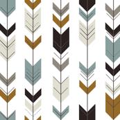 fletching arrows // white