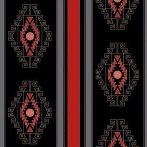 dark saddle blanket