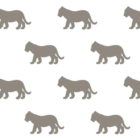 lion cub fabric by littlearrowdesign on Spoonflower - custom fabric