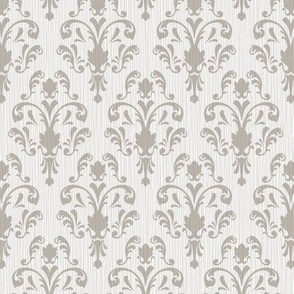 Soft Baroque Pattern Gray