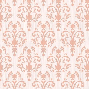 Soft Baroque Pattern Pink