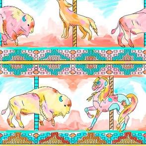 southwest carousel