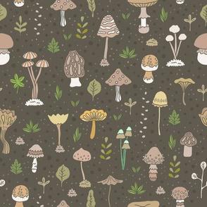 mushroom pattern
