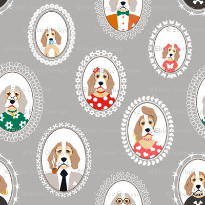 Beagle Family Portraits Large