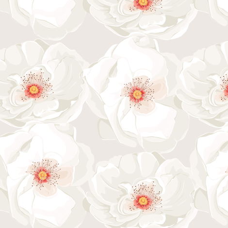 Flower Beauty fabric by innamoreva on Spoonflower - custom fabric
