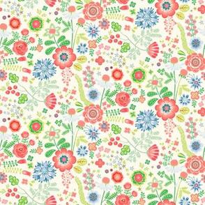 Flowergarden - creme garden