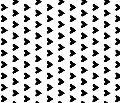 black heat  fabric by littlecolleydesign on Spoonflower - custom fabric
