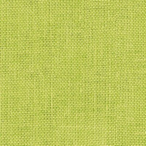 apple green burlap