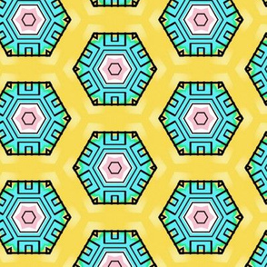 southwest hexagon dot