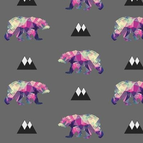 Mountains & Geometric Bears