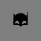 gray bat mask